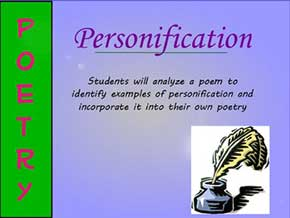personification and poetry blogsolid com